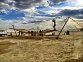 2013 - The Largest Known Hammock makes it's debut on the playa